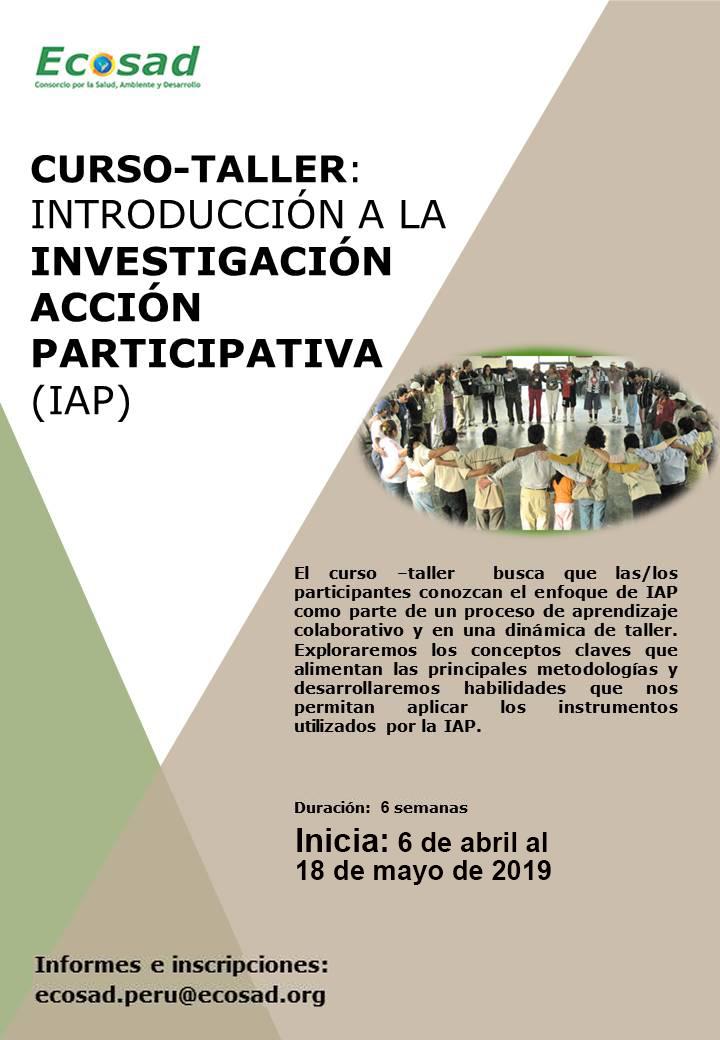 Course Image Introducción a la Investigación Acción Participativa